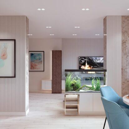 Дизайн двухэтажной квартиры кухня студия дизайна