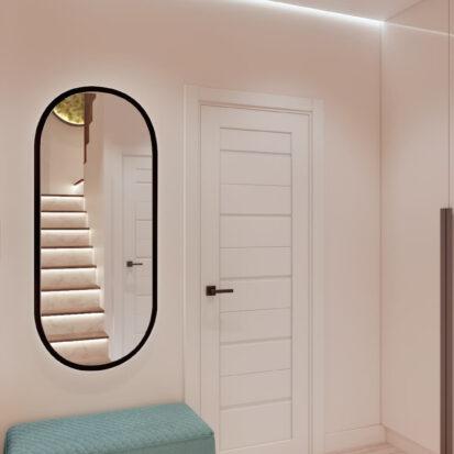 Дизайн двухэтажной квартиры прихожая дизайнерский ремонт