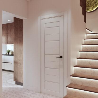 Дизайн двухэтажной квартиры прихожая цена