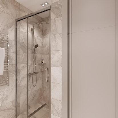 Дизайн двухэтажной квартиры проект ванной