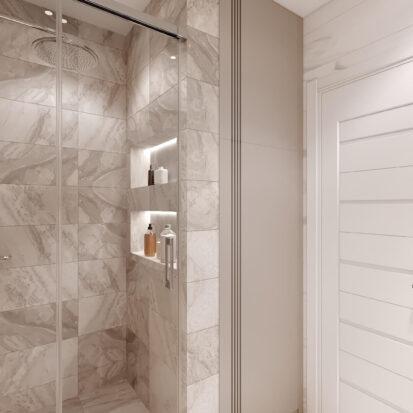 Дизайн двухэтажной квартиры ремонт ванной