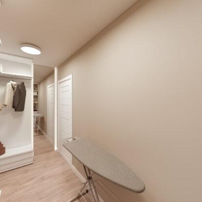 Дизайн двухэтажной квартиры ремонт гардеробной