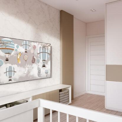 Дизайн двухэтажной квартиры ремонт детской