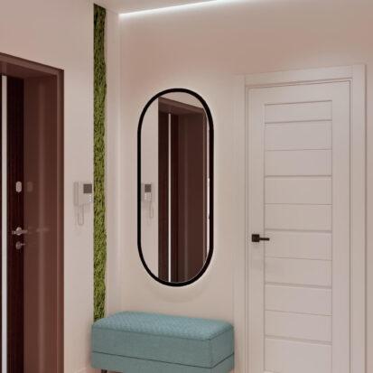Дизайн двухэтажной квартиры ремонт прихожей