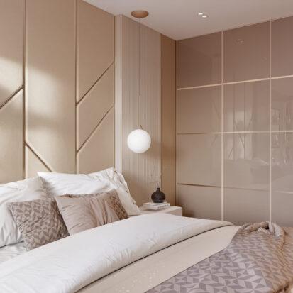 Дизайн двухэтажной квартиры ремонт спальни