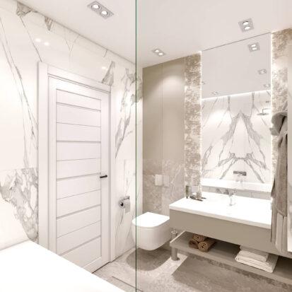Дизайн двухэтажной квартиры ремонт туалета