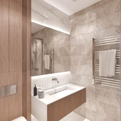 Дизайн двухэтажной квартиры сан узел