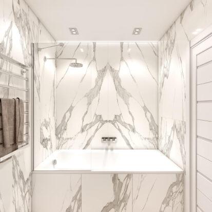 Дизайн двухэтажной квартиры совмещенный туалет