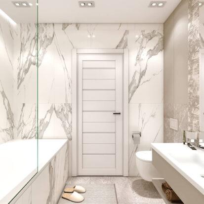 Дизайн двухэтажной квартиры туалет дизайн-проект