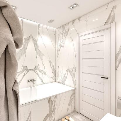 Дизайн двухэтажной квартиры туалет проект