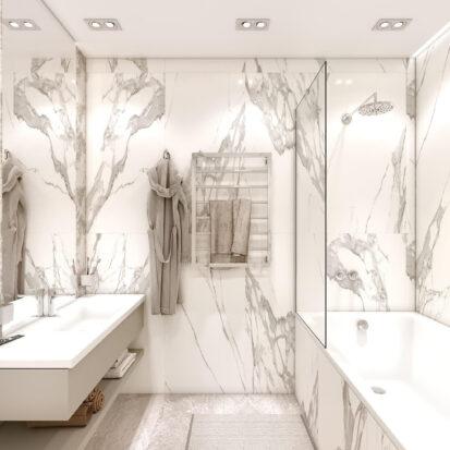 Дизайн двухэтажной квартиры туалет цена