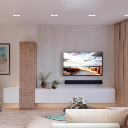 Дизайн и ремонт двухэтажной квартиры