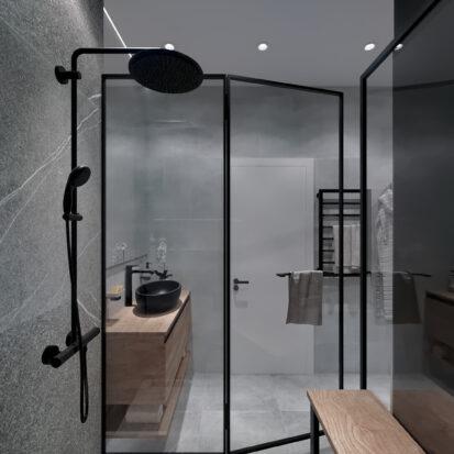 Дизайн 3-х комнатной квартиры Киев ванная студия дизайна