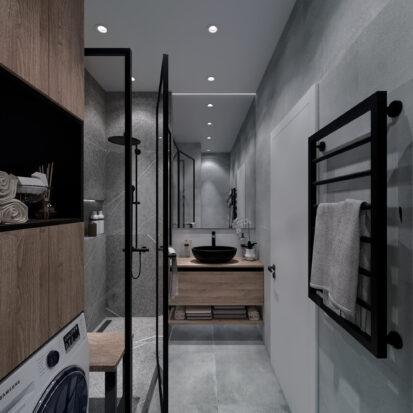 Дизайн 3-х комнатной квартиры Киев ванная цена