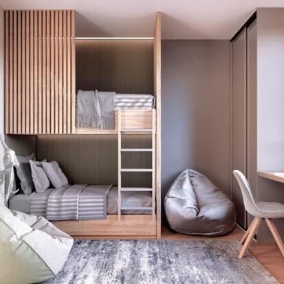 Дизайн 3-х комнатной квартиры Киев детская цена