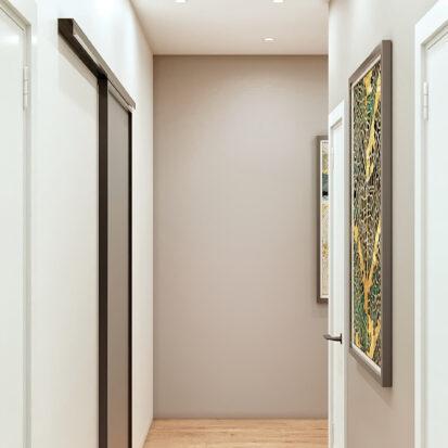 Дизайн 3-х комнатной квартиры Киев коридор