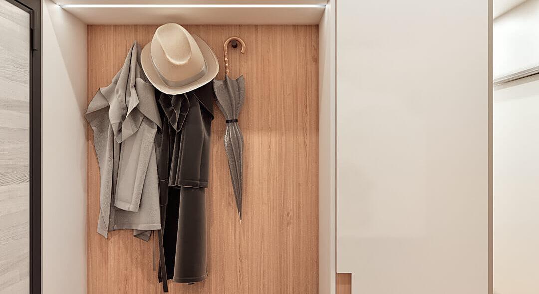 Дизайн 3-х комнатной квартиры Киев прихожая цена