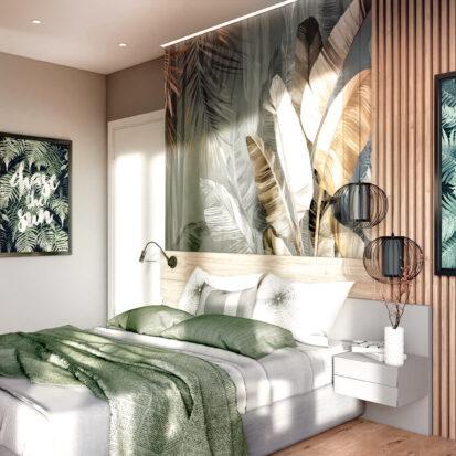 Дизайн 3-х комнатной квартиры Киев спальня дизайн проект