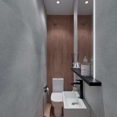 Дизайн 3-х комнатной квартиры Киев туалет