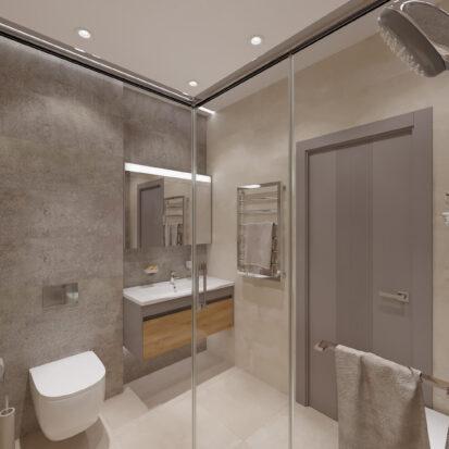 Дизайн дома Запорожье гостевой туалет