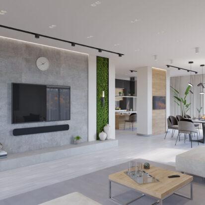 Дизайн дома Запорожье гостиная