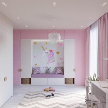 Дизайн дома Запорожье детская для девочки цена