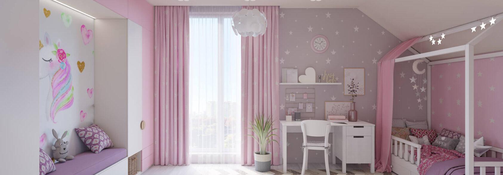 Дизайн дома Запорожье детская