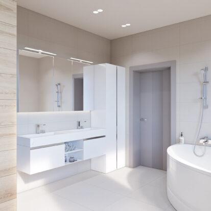 Дизайн дома Запорожье дизайнерский ремонт ванной