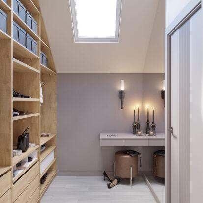 Дизайн дома Запорожье дизайнерский ремонт гардеробной комнаты