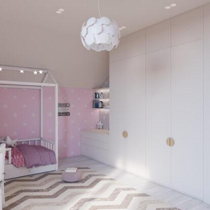 Дизайн дома Запорожье дизайнерский ремонт детской