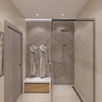 Дизайн дома Запорожье дизайнерский ремонт душевой
