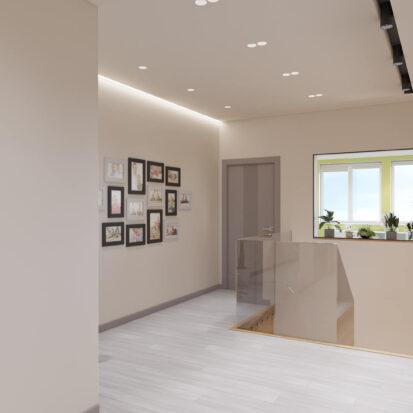 Дизайн дома Запорожье дизайнерский ремонт лестницы