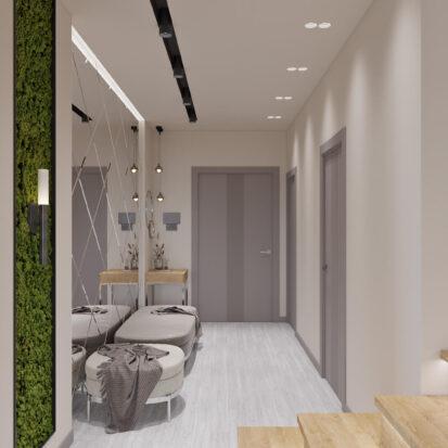 Дизайн дома Запорожье дизайнерский ремонт прихожей