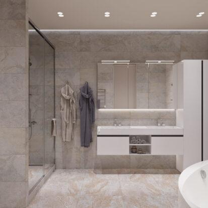 Дизайн дома Запорожье дизайнерский ремонт совмещенного санузла