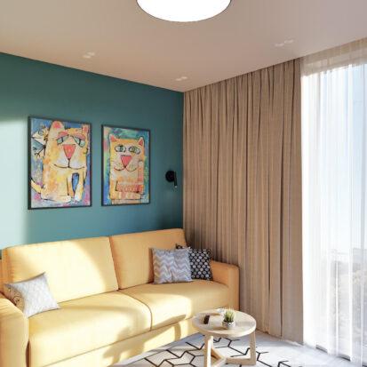 Дизайн дома Запорожье дизайн-проект гостевой комнаты