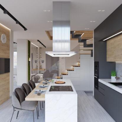 Дизайн дома Запорожье дизайн проект кухни