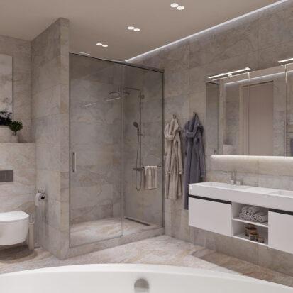 Дизайн дома Запорожье дизайн проект совмещенный санузел