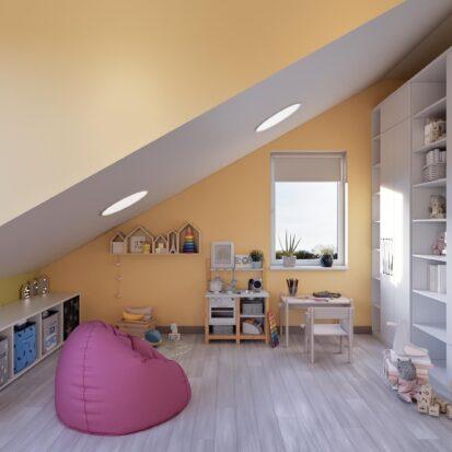Дизайн дома Запорожье игровая комната для всей семьи