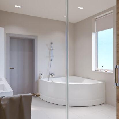 Дизайн дома Запорожье интерьер ванной комнаты