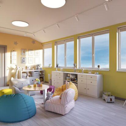 Дизайн дома Запорожье интерьер игровой комнаты