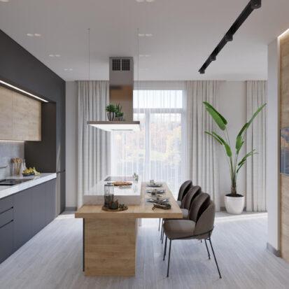 Дизайн дома Запорожье интерьер кухни