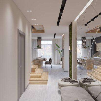 Дизайн дома Запорожье интерьер прихожей