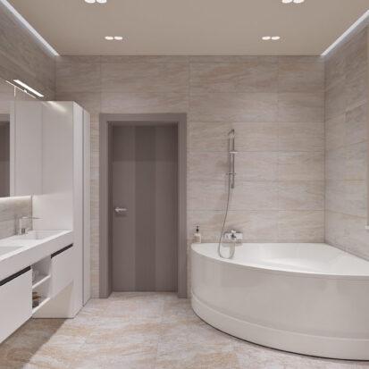 Дизайн дома Запорожье интерьер совмещенного санузла
