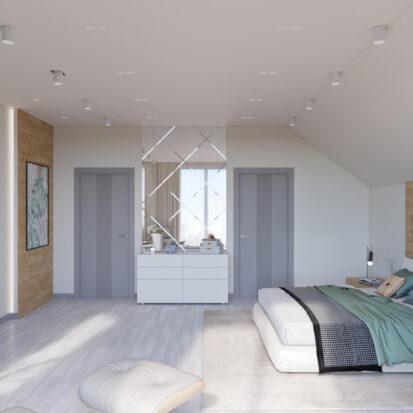 Дизайн дома Запорожье интерьер спальни