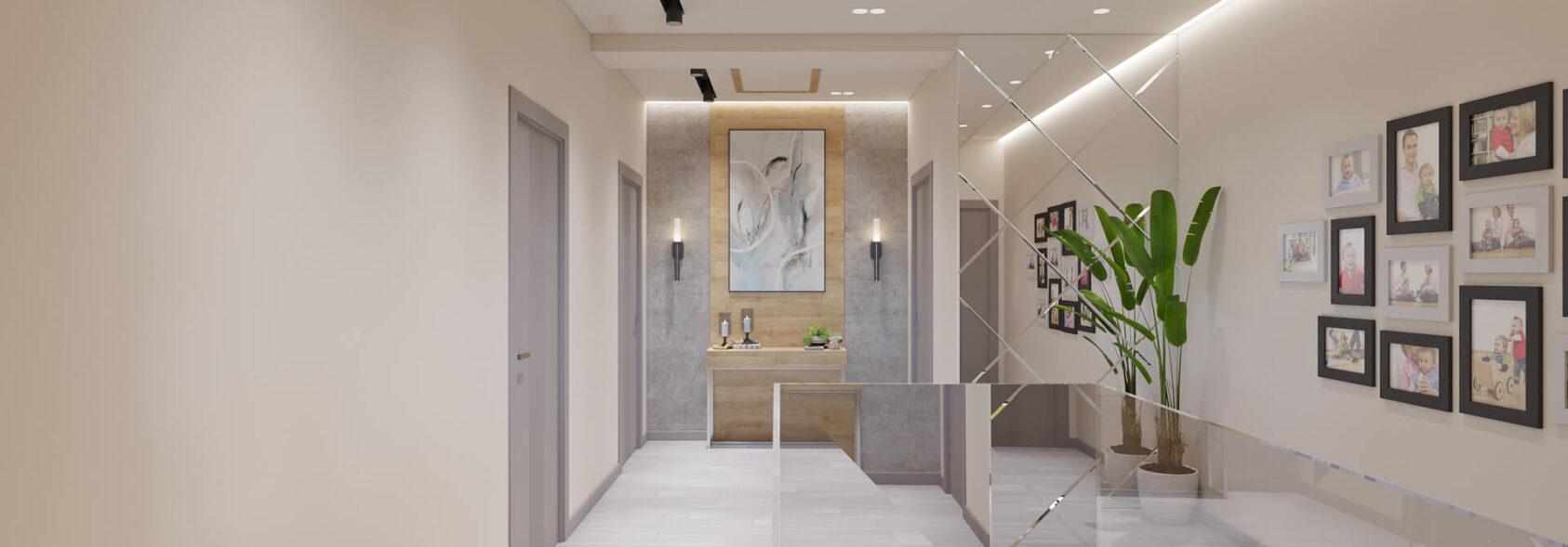 Дизайн дома Запорожье коридор