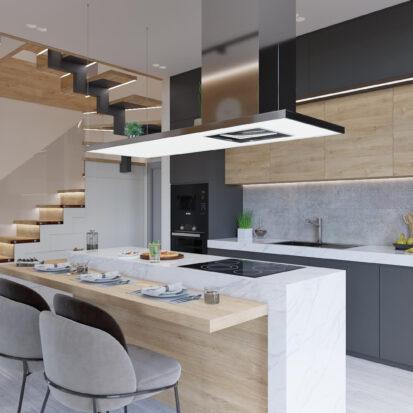 Дизайн дома Запорожье кухня цена