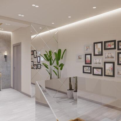 Дизайн дома Запорожье лестница 2й этаж