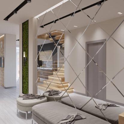 Дизайн дома Запорожье прихожая цена