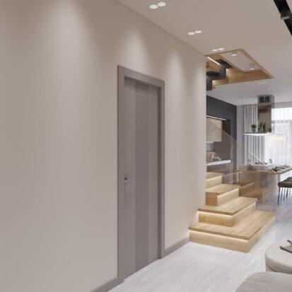 Дизайн дома Запорожье проект прихожей