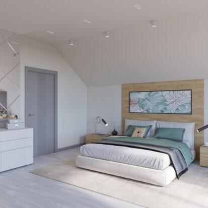 Дизайн дома Запорожье проект спальни